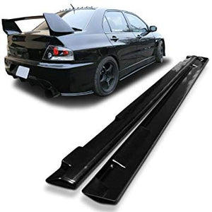Mitsubishi Lancer Evolution 7 , 8 and 9 Side skirt Extensions