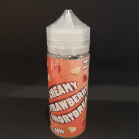 Creamy Strawberry Shortbread 120ML Wholesale