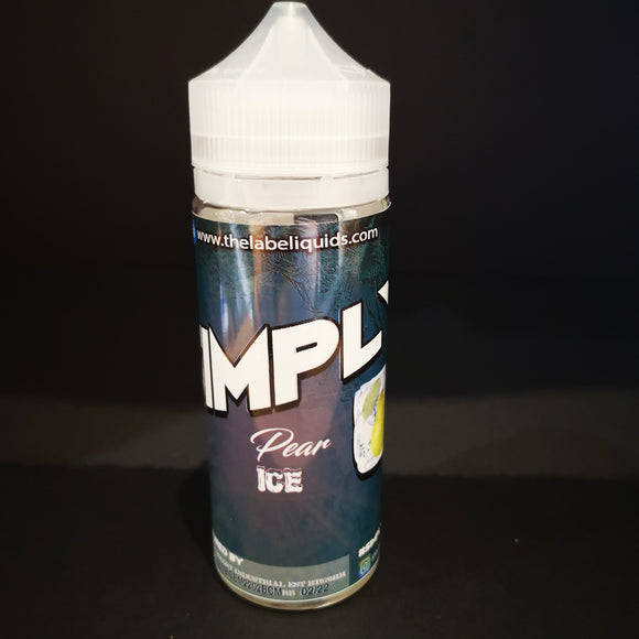 Simply Pear Ice 120ML Wholesale