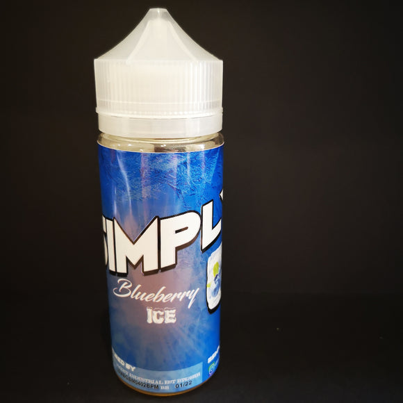 Simply Blueberry Ice 120ML Wholesale