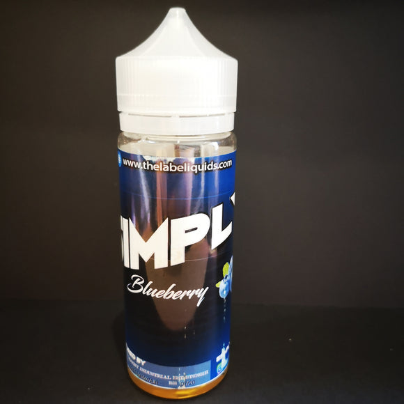 Simply Blueberry 120ML Wholesale
