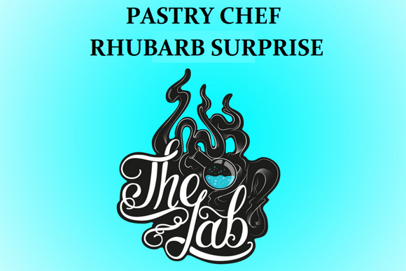 RHUBARB SURPRISE PASTRY CHEF