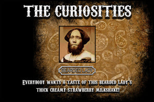 Curiosities - The Bearded Lady 120ML Wholesale