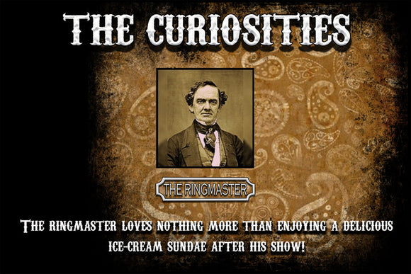 Curiosities - The Ringmaster 120ML Wholesale