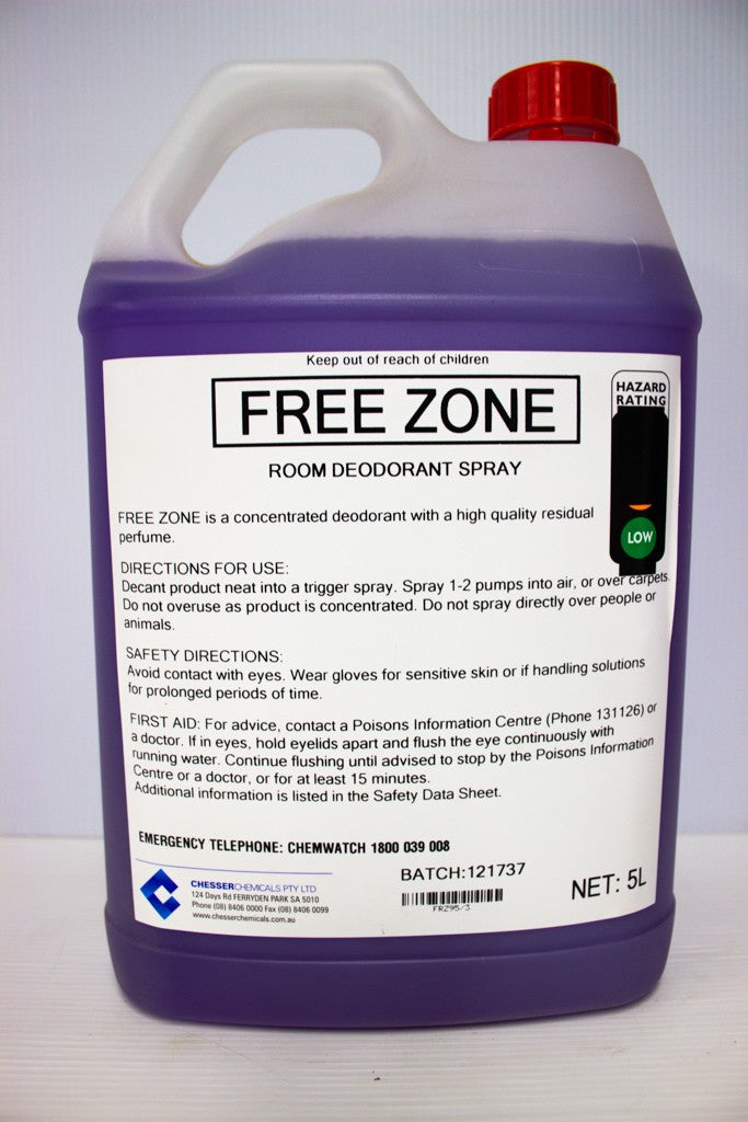 CHESSER FREE ZONE AIR FRESH 5L