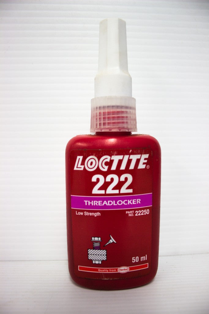 LOCTITE 222 THREADLOCKER LOW 50ML