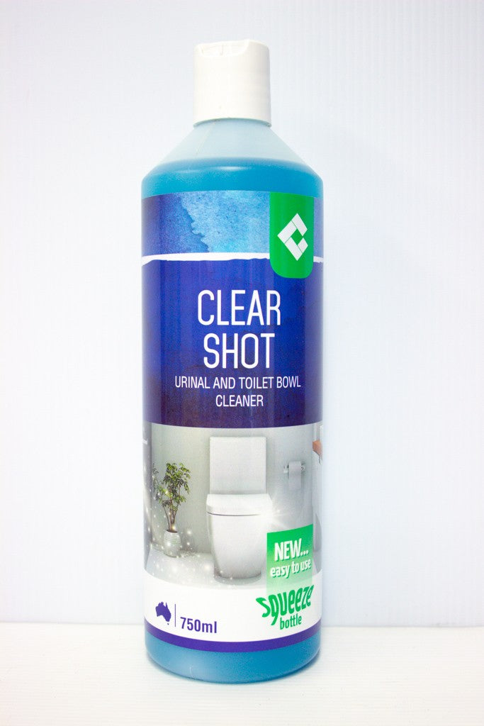CLEAR SHOT TOILET CLEANER 750ML CHESSER
