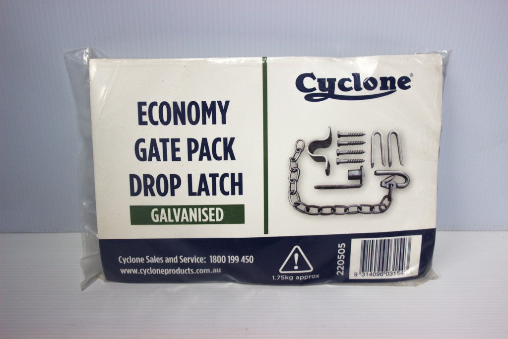 CYCLONE ECONOMY GATE FTNG PACK (25MM SADDLE & GUDGEON) 220505