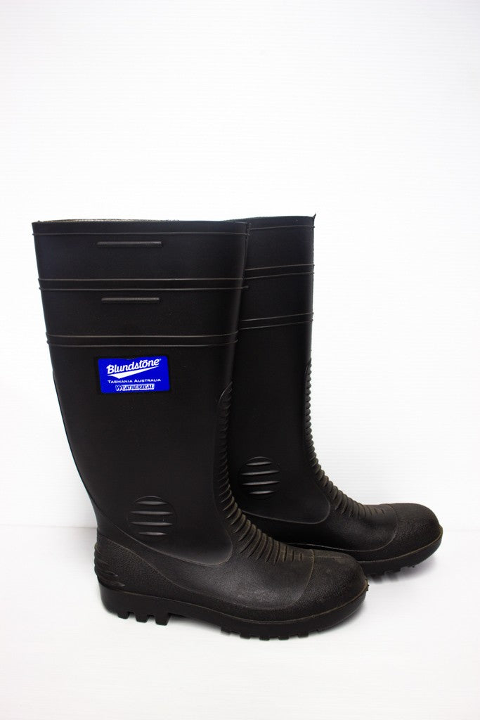 BLUNDSTONE RUBBER BOOT SIZE8