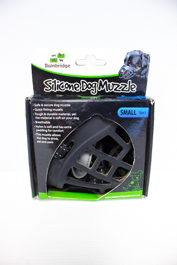DOG MUZZLE SILICON SMALL A7043