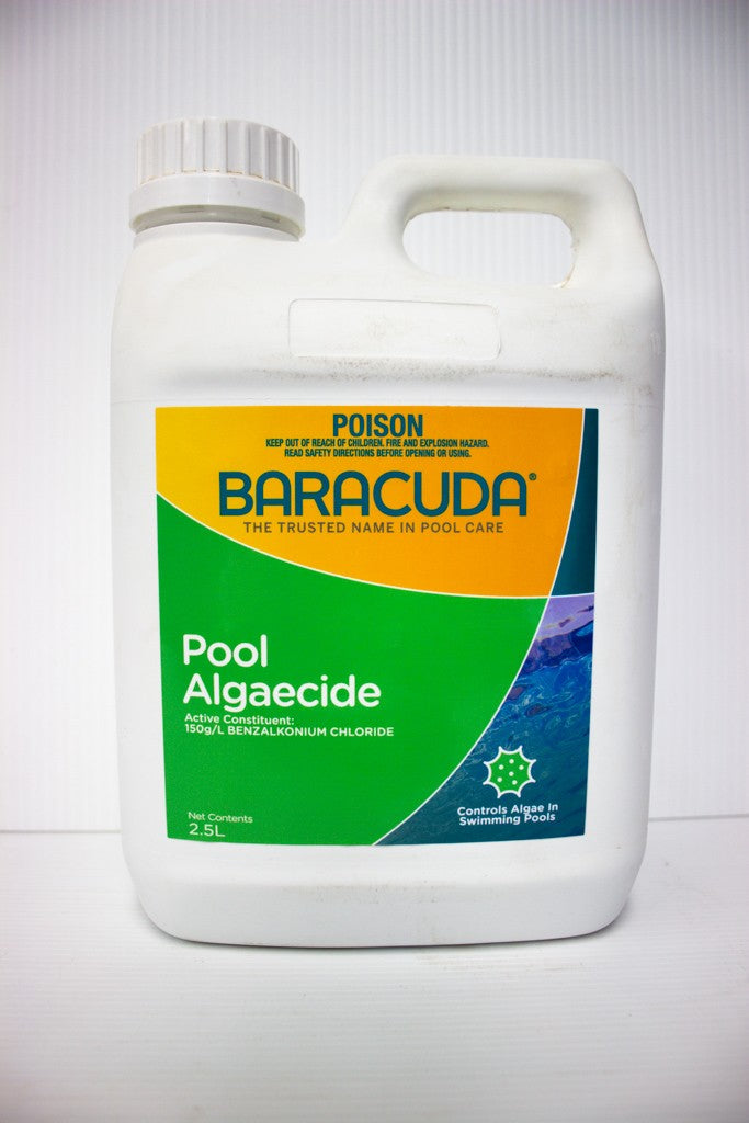 BARACUDA ALGAECIDE 2.5L POOL