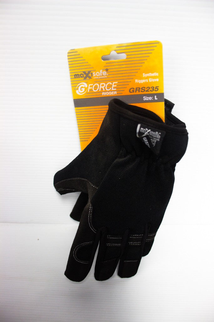 MAXISAFE SYNTHETIC RIGGERS GLOVE LARGE