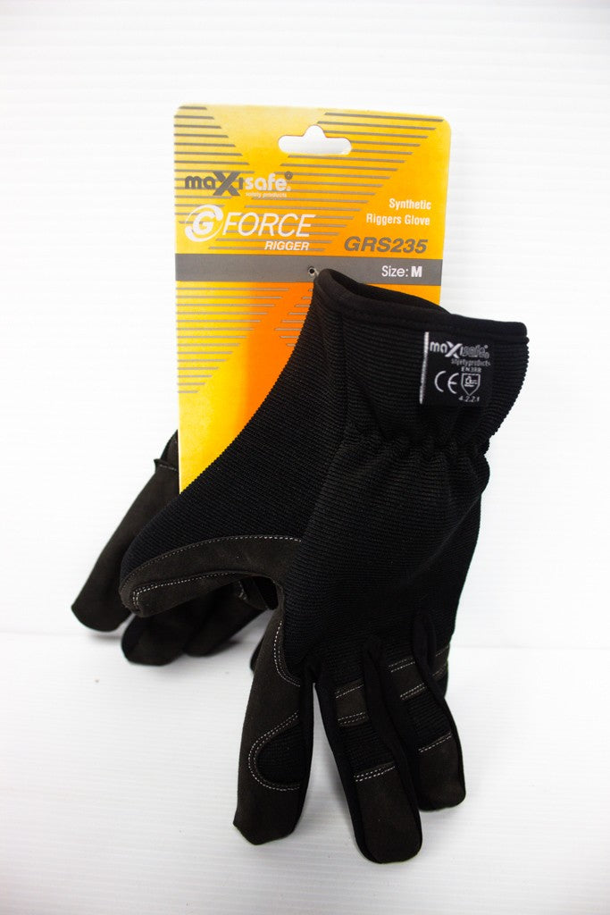 MAXISAFE SYNTHETIC RIGGERS GLOVE MEDIUM