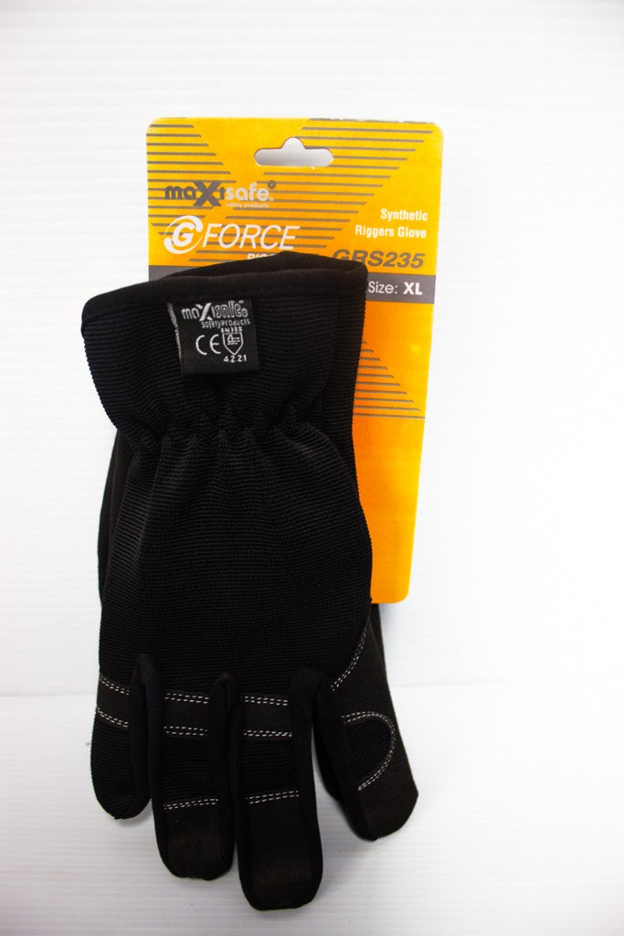 MAXISAFE SYNTHETIC RIGGERS GLOVES X-LARGE