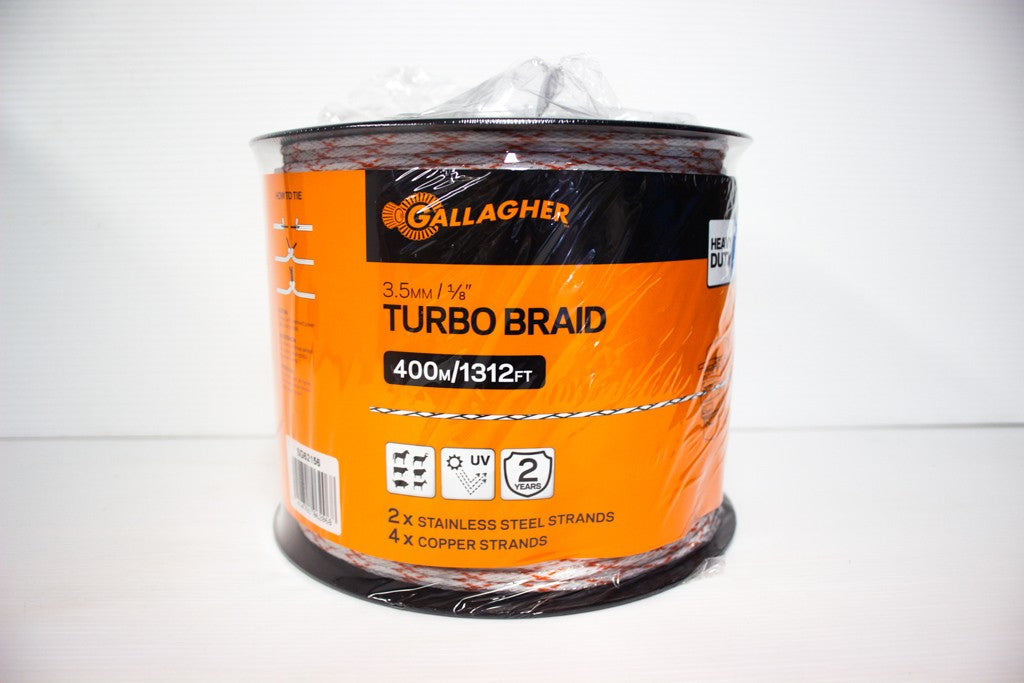 GALLAGHER TURBO BRAID 3.5MM 400M