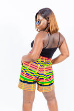 "Load image into Gallery viewer, Kente Print ""DINA"" Summer shorts"