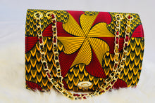 "Load image into Gallery viewer, Shop African Print ""Show Stopper""  Bag from EllaFashionMall.com Our bags are handmade from the motherland. Specially curated for our Queens. Make a big entrance anywhere you go with these bags. Inside lined with velvet. ✅ 100% African material  african print Show Stopper bag"
