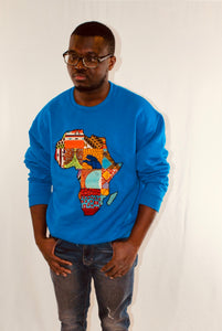 Buy African Map Sweatshirt from EllaFashionMall.com Stay warm and stylish in our Unisex African map sweatshirts. ✅ 100% Cotton and African prints  African Map Sweatshirt buy African Map Sweatshirt
