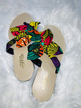 Load image into Gallery viewer, Mixed African Prints Flip-Flop