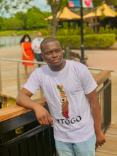 Load image into Gallery viewer, #TOGO MAP Short Sleeve T-Shirts
