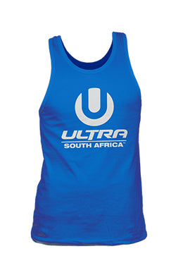 Royal Blue Male Vest with White ULTRA SA Logo