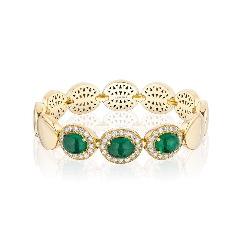 Emerald Stretchy Bracelet