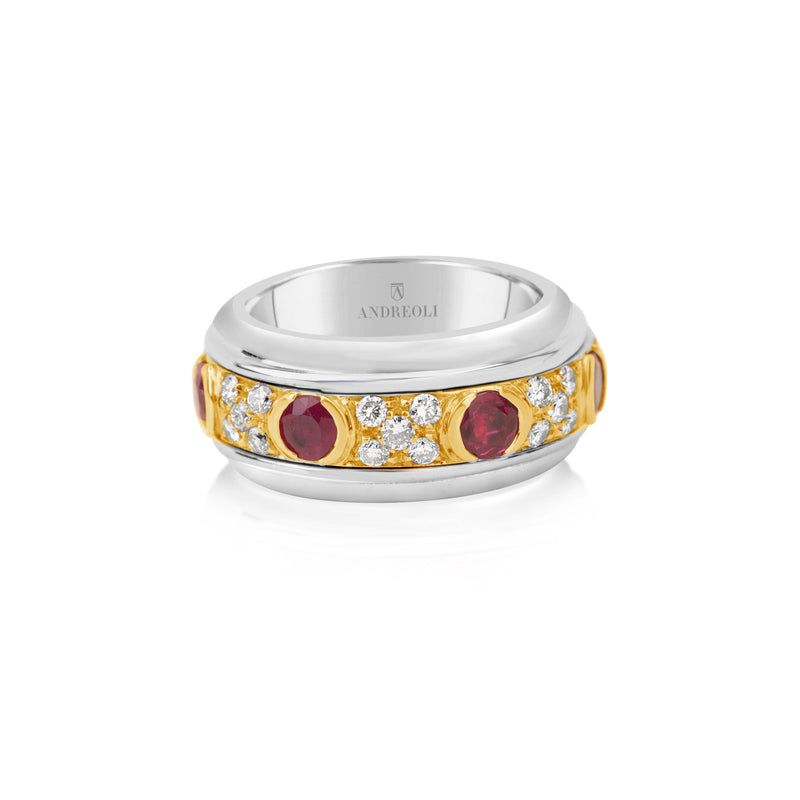 Ruby Spinning Ring