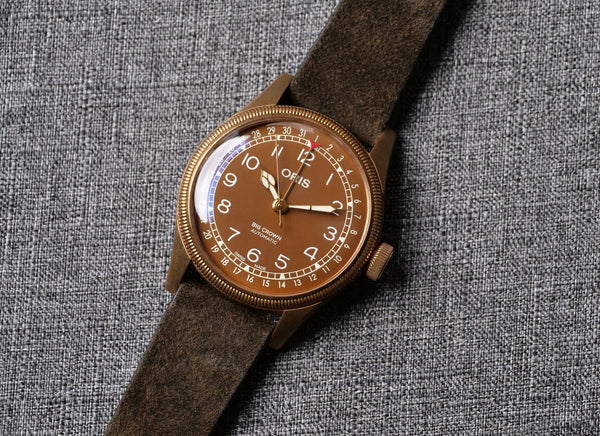 Oris Big Crown Bronze Pointer Date.