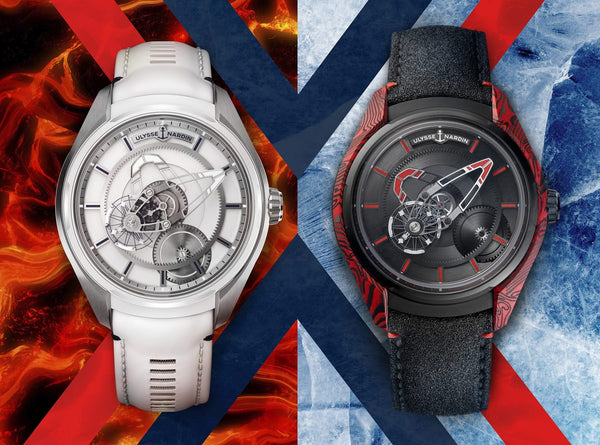 "Ulysse Nardin Freak X Goes ""Ice and Fire"""