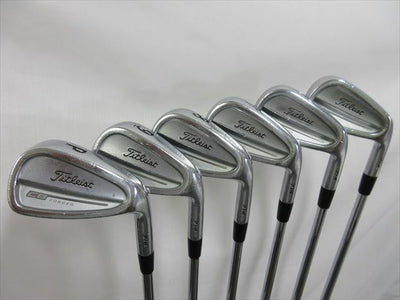 Titleist Iron Set Titleist CB 714 Stiff Dynamic Gold