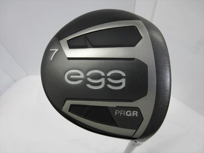 PRGR Fairway egg -2019 7W 20 Stiff egg original carbon