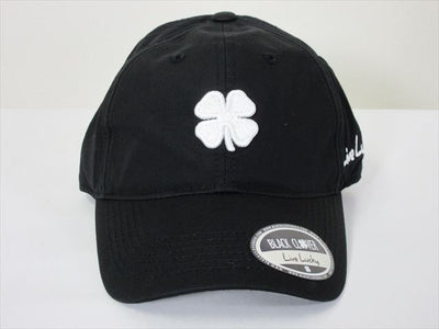 BlackClover Cap LUCKY FOR ME #2 White/Black Size Free