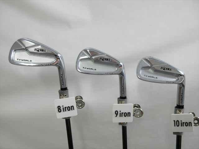 HONMA Iron Set TOUR WORLD TW747V Stiff VIZARD IB-WF 85 (7 pieces)