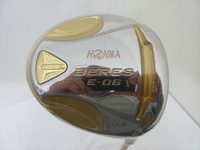 HONMA Driver BRAND NEW BERES E-06High Core Model 11.5 Regular 4S ARMRQX 43