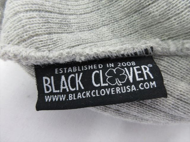 BlackClover Knit Cap CHILLED LUCK #2 Light Grey Size Free