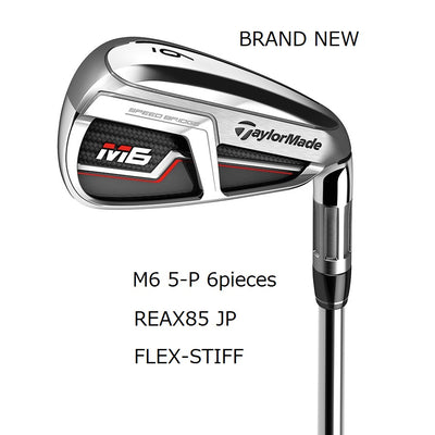 TaylorMade Iron Set M6 Brand New Authentic REAX85 JP STEEL(2019 Iron)