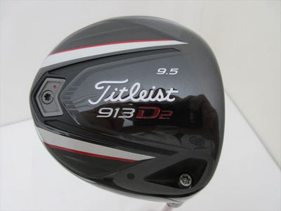Titleist Driver 913 D2 9.5 Stiff Speeder 661 EVOLUTION ‡V