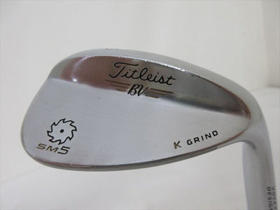 Titleist Wedge VOKEY SPIN MILLED SM5 60 degree NS PRO 950GH
