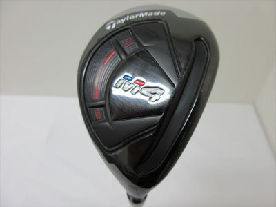 TaylorMade Hybrid M4 0 25 Stiff RE-AX 90 STEEL JAPAN¥SPEC