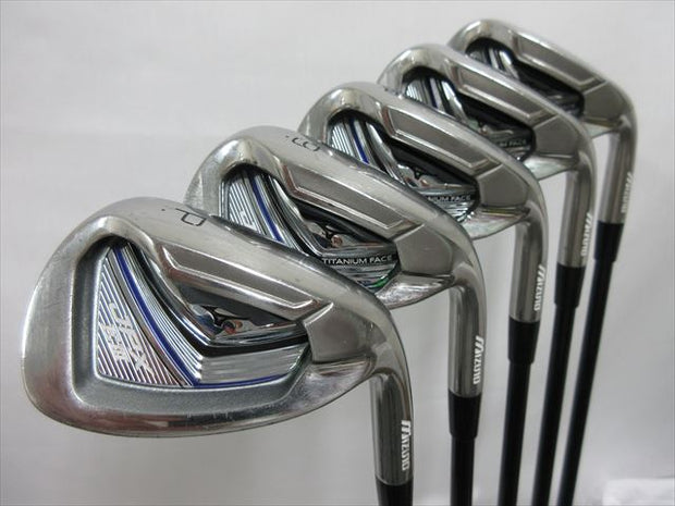 Mizuno Iron Set JPX EIII SV TITANIUM FACE Flex-SR Orochi Light(IR)