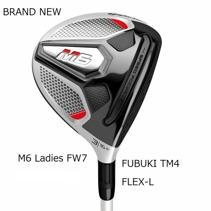 TaylorMade Fairway M6 7W Brand New Authentic 22.5 Ladies FUBUKI TM4(2019)