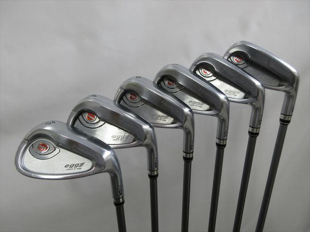 PRGR Iron Set egg PF(2017) Flex-SR egg original shaft (6 pieces)