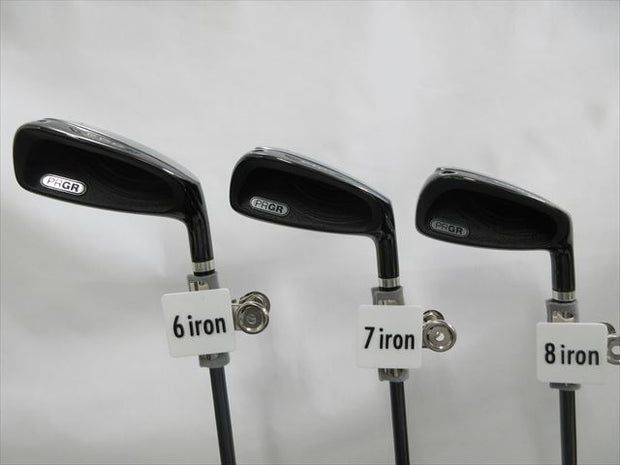 PRGR Iron Set egg -2011 Regular egg original shaft (5 pieces)