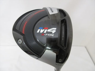 TaylorMade Driver M4 D-TYPE 10.5 Regular MATRIX Platinum MFS 5 WHITE TIE 55