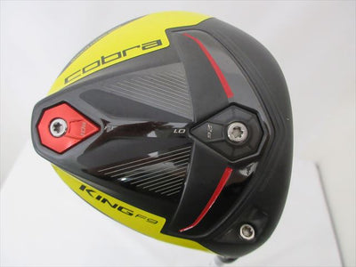 Cobra Driver KING F9 SPEEDBACK 9 Stiff Speeder EVOLUTION for Cobra(DR)