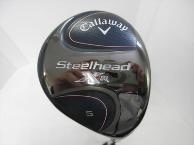 Callaway Fairway STEELHEAD XR 5W 18 Regular Speeder EVOLUTION for XR