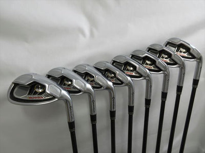 TaylorMade Iron Set BURNER TOUR Stiff RE-AX SUPERFAST 60(8 pieces)