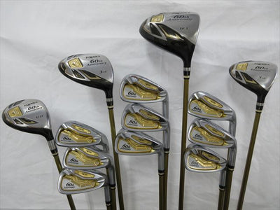 HONMA Full Set(13 pieces) 60th Anniversary Flex-SR 3S ARMRQ X 60th (Club only)