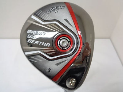 Callaway Fairway Wood GREAT BIG BERTHA -2015(JP MODEL) 3W BIGBERTHA(2015)Fairway