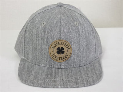 BlackClover Cap MARINE LUCK #3 Gray Size Free